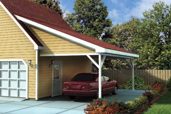 28 Attached Carport Designs Attached Carport Ideas The 615