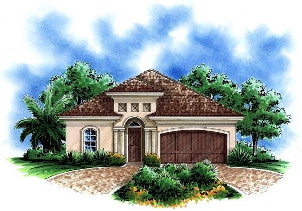 House Plan 60495 at FamilyHomePlanscom