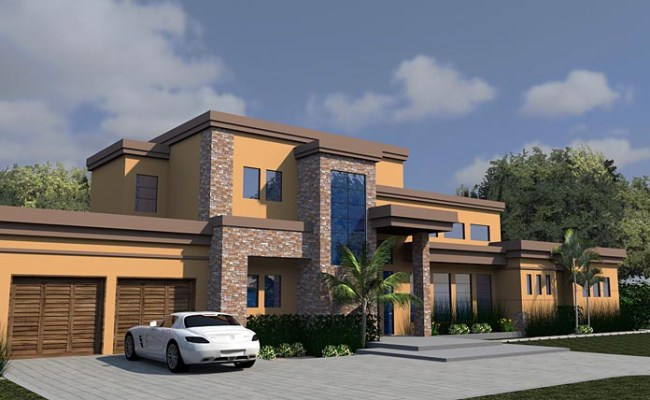 Contemporary House Plan 71535 With 4278 Sq Ft 4 Beds 6