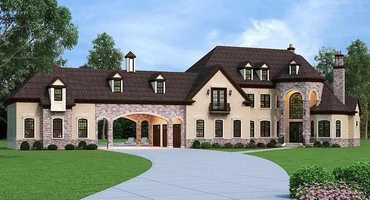House Plan 72226 At FamilyHomePlans.com