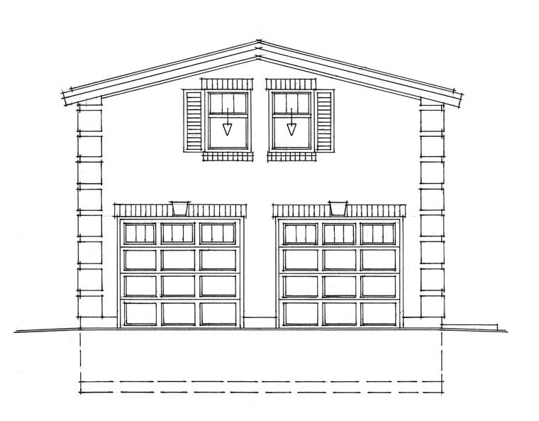 Garage Plan 76030 at FamilyHomePlanscom