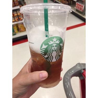 Starbuck's Teavana Shaken Peach Citrus White Tea Infusion ...