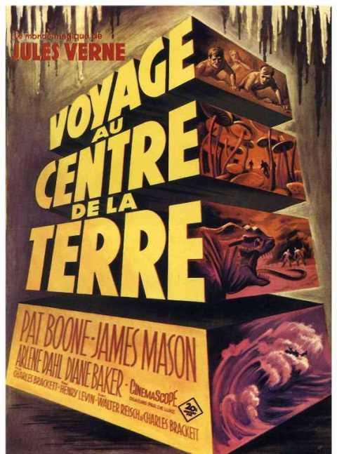 Voyage Au Centre De La Terre 1959 : voyage, centre, terre, Jaquettes, Blu-ray, Voyage, Centre, Terre