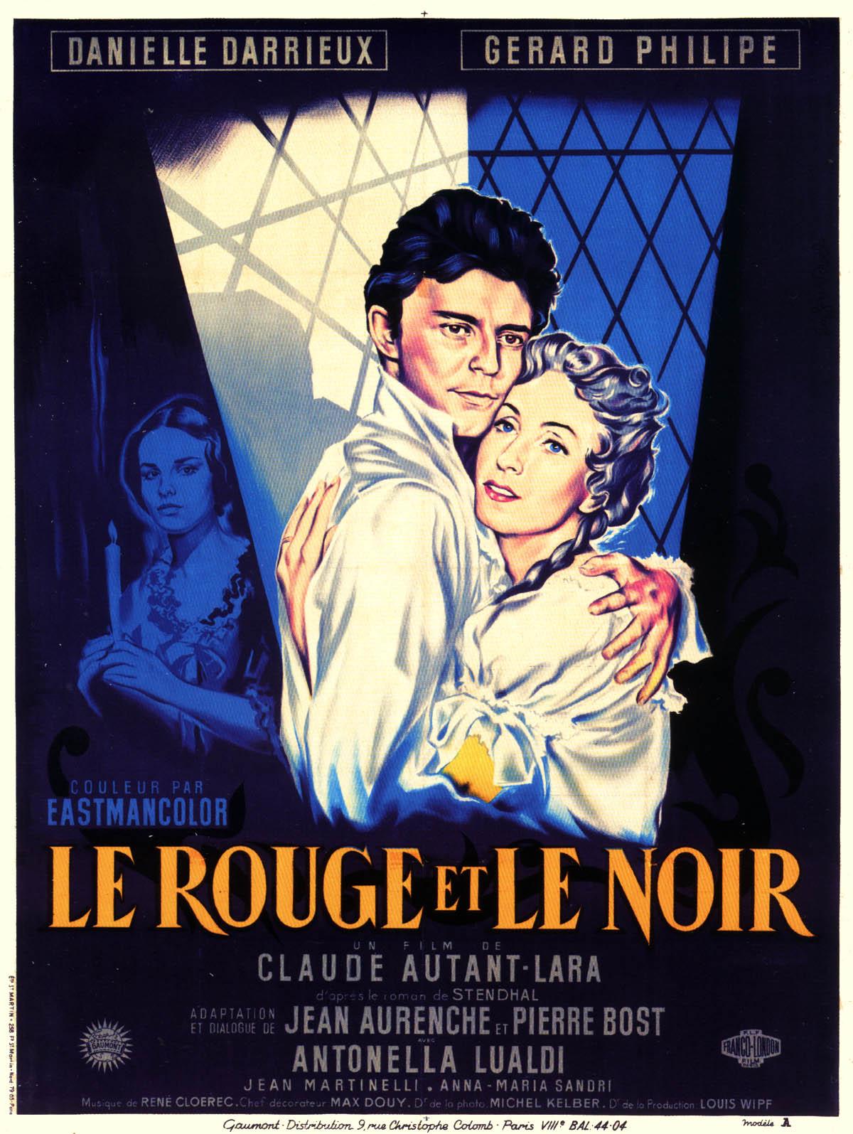 Le Rouge Et Le Noir Film Streaming : rouge, streaming, Affiche, Rouge