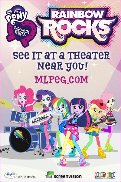 My Little Pony Equestria Girls Rainbow Rocks Fandango
