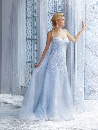 Frozen Inspired Wedding Dress | www.imgkid.com - The Image ...
