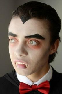 Halloween Dracula Makeup