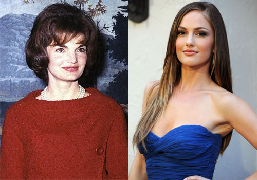 Image result for minka kelly jackie kennedy