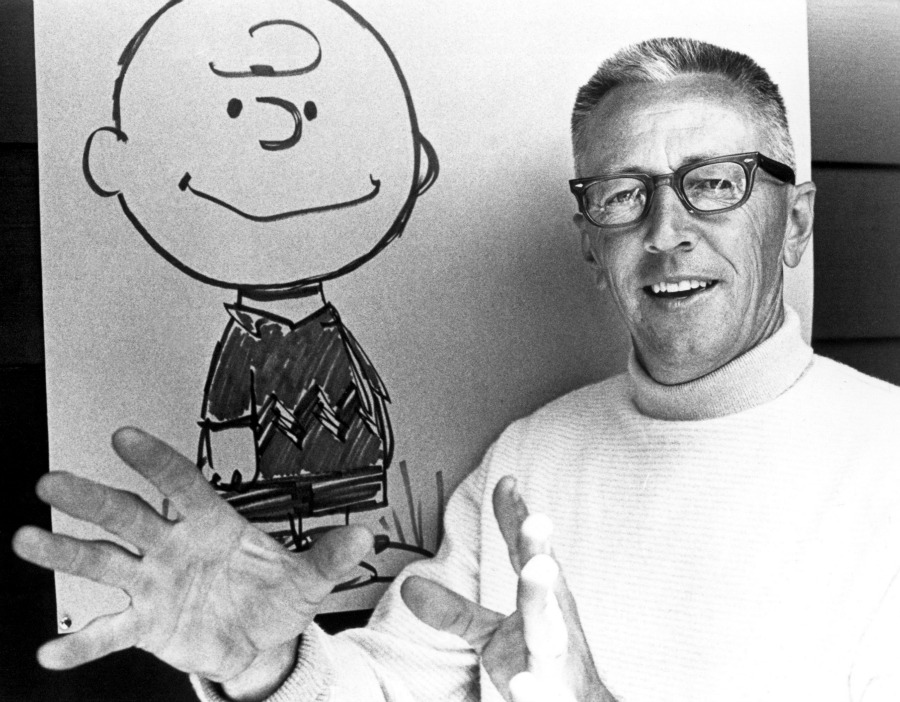 Image result for peanuts charles schulz
