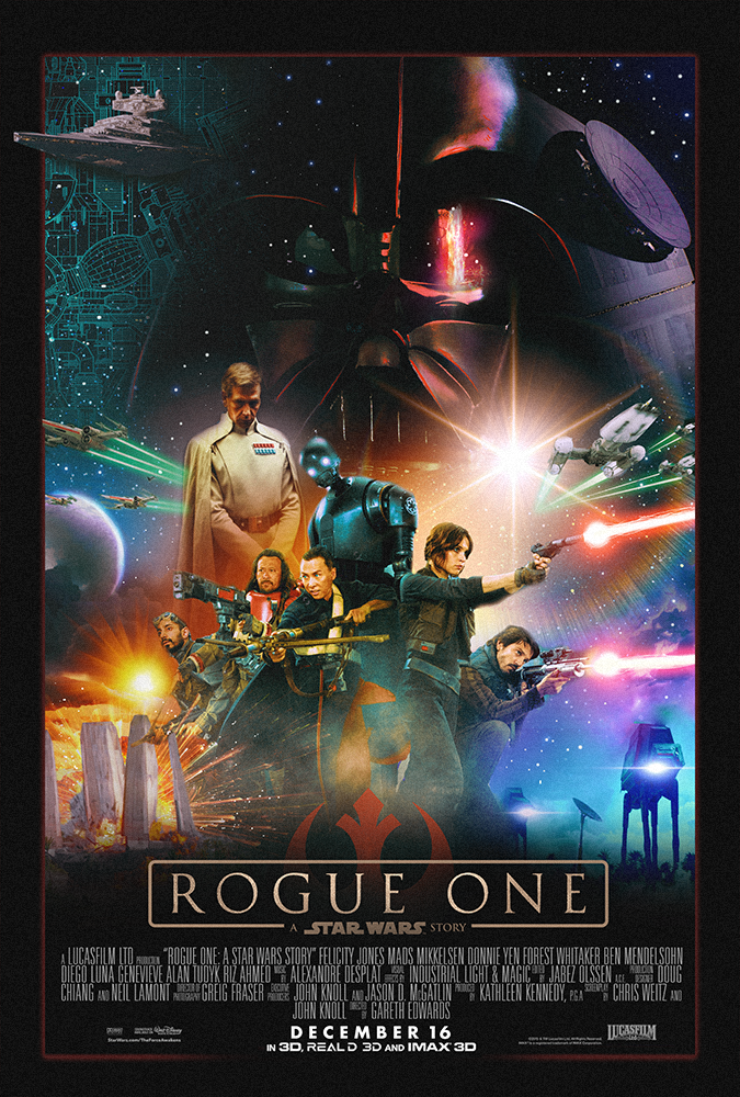 Image result for rogue one movie poster