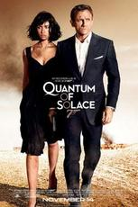"""Poster art for """"Quantum of Solace."""""""