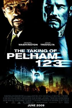 "Poster Art for ""The Taking of Pelham 123."""