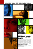 """Poster art for """"For Colored Girls"""""""
