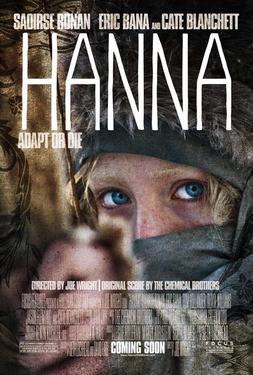 """Poster art for """"Hanna."""""""