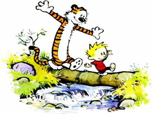 Calvin & Hobbes - calvin-and-hobbes Wallpaper