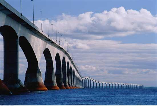 Confederation Bridge Photos - Building Traveling