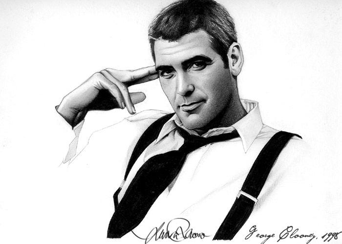 George Clooney - george-clooney fan art