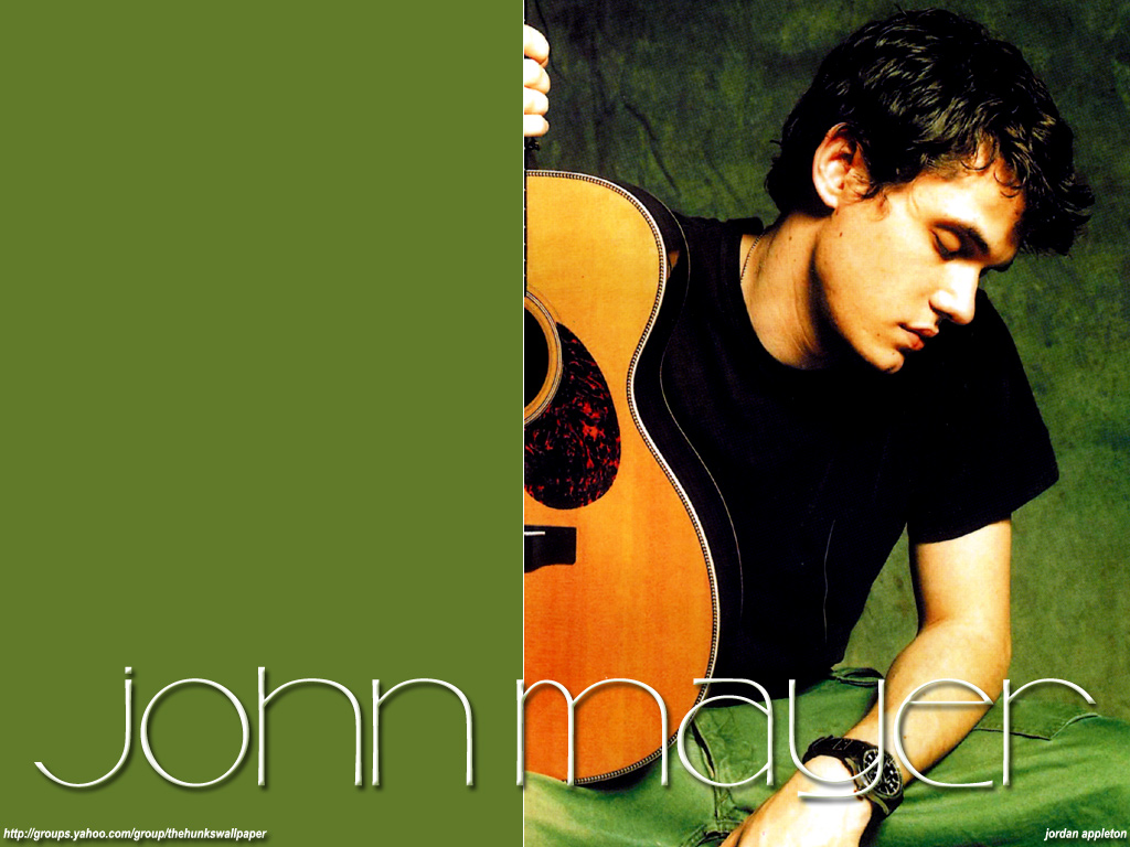 John  John Mayer Wallpaper 53081  Fanpop
