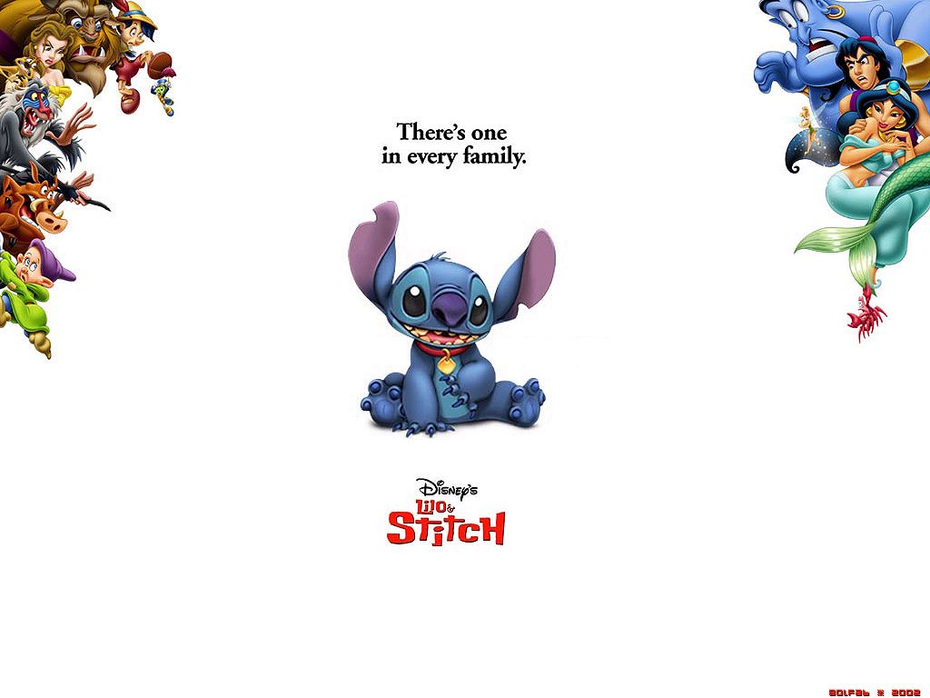 Lilo & Stitch - Disney Wallpaper (67475) - Fanpop