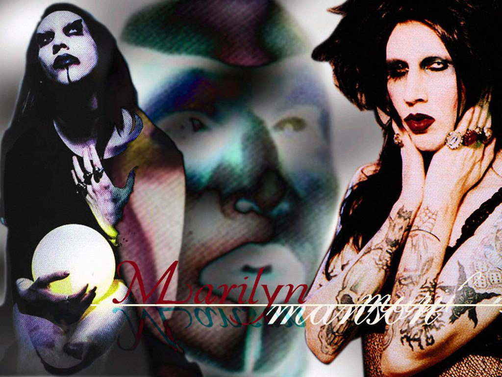 Image result for marily manson images