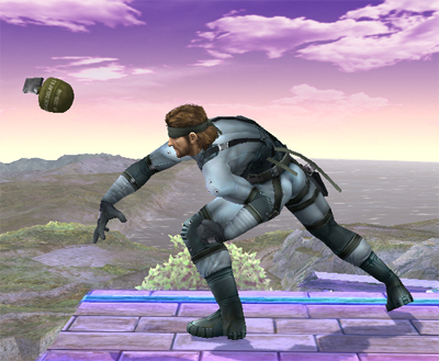 Snakes Special Moves Super Smash Bros Brawl Photo