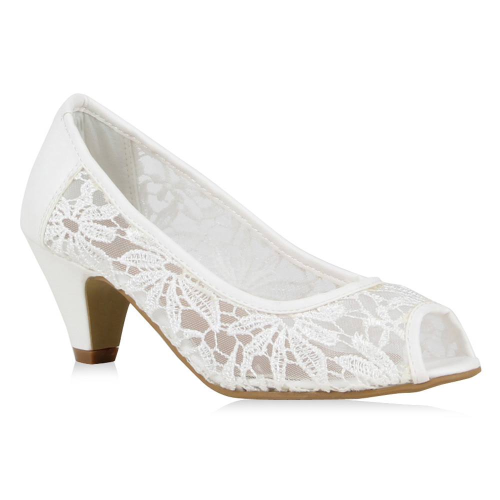 Damen Pumps in Wei 72319686  stiefelparadiesde