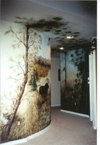 Colleen Taylor - Work Zoom: Alaskan Wildlife Wall Mural