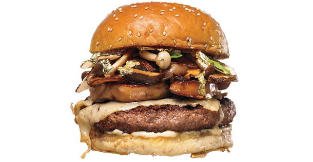 Chef Kevin O'Connells $175 burger he serves at New York's Wall Street Burger Shoppe