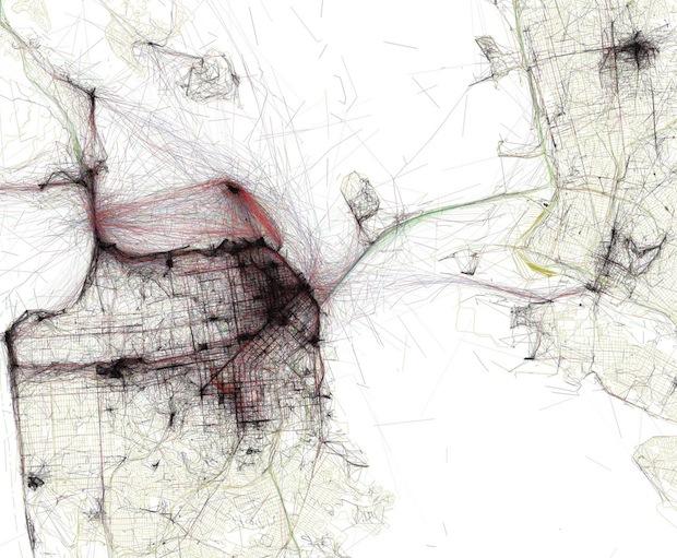 map sf