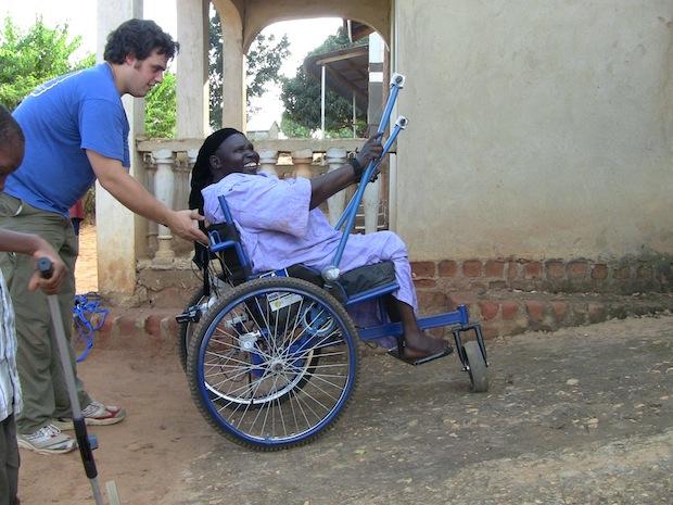 MIT Student Designs AllTerrain Wheelchair for the Poor