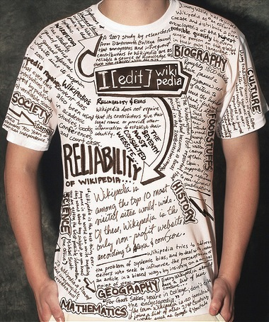 wordy T-shirt