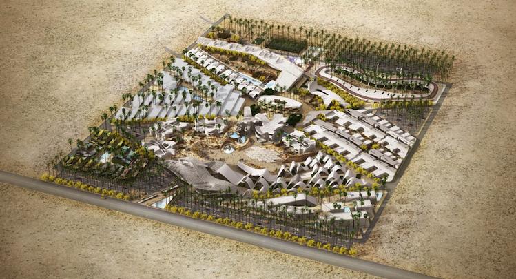BOOM! Palm Springs Plans A Wacky 250m Retirement
