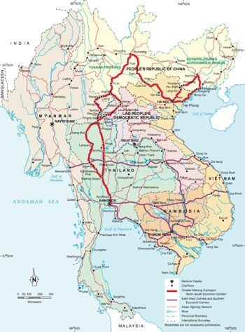 Map Of Singapore And China : singapore, china, Singapore, China, World