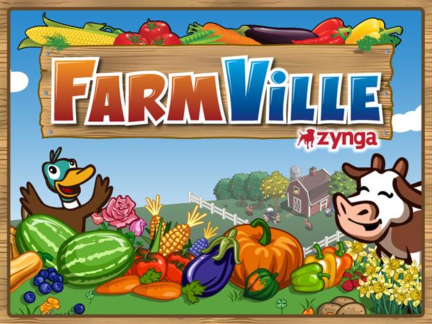 Facebook Farmville Game