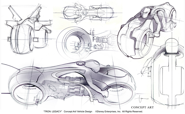 How Tron: Legacy Light Cycle Designers Made the Sexiest