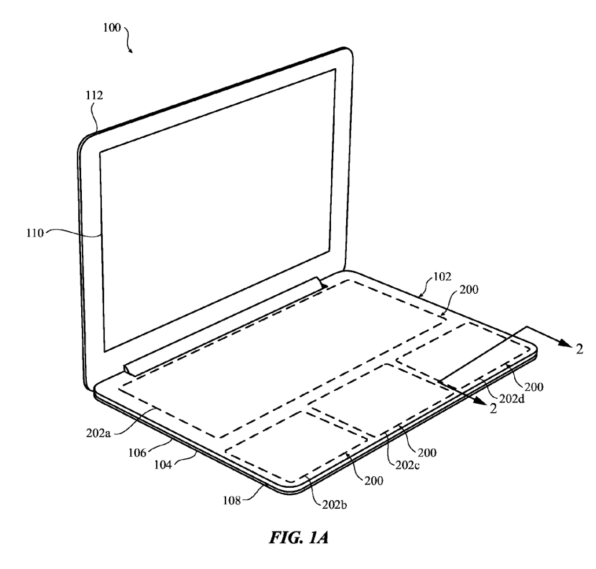 An Apple patent reveals how the MacBook could be radically