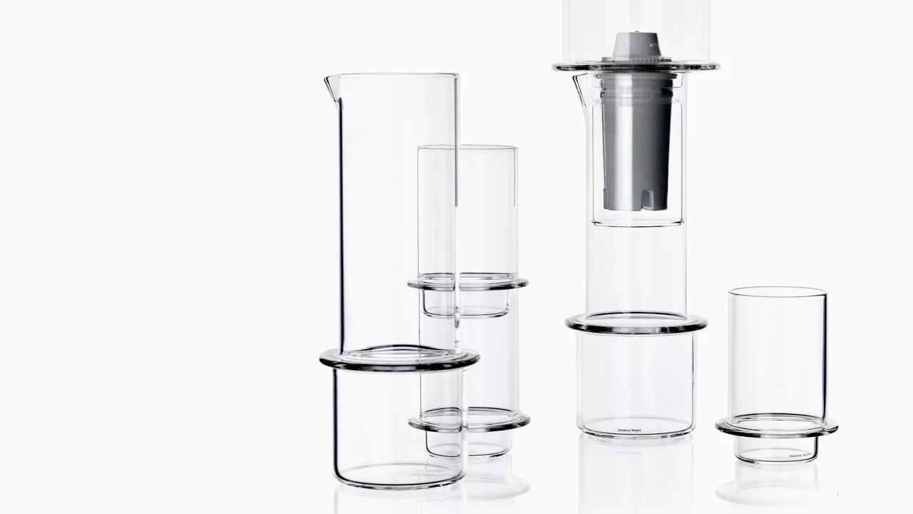Stackable Glassware Inspired By The Science Lab