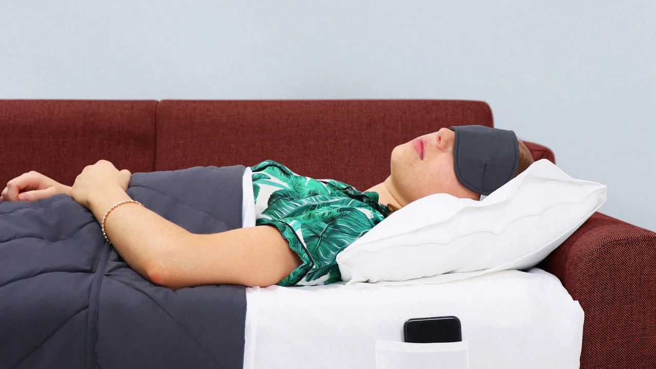sleep kit turns any sofa into a bed