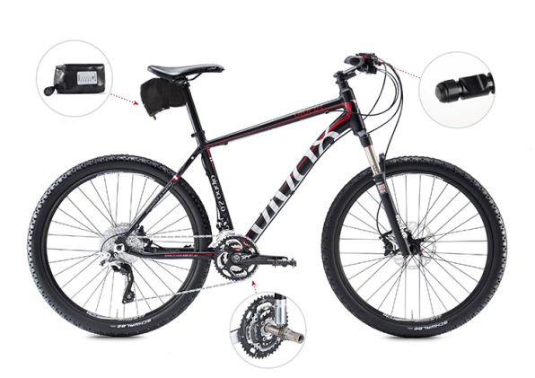 This Kit Hides A Secret Electric Motor In Your Own Bike
