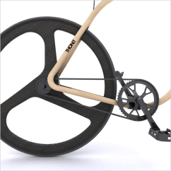 The Bike Chair Study Desk And A 70 000 Wooden Crafted Like Century Old Of Course Martin Did Turn To Few Modern Technologies Craft While Wood Frame Is Enitrely Steam Bent Cnc Machines Finished Contours