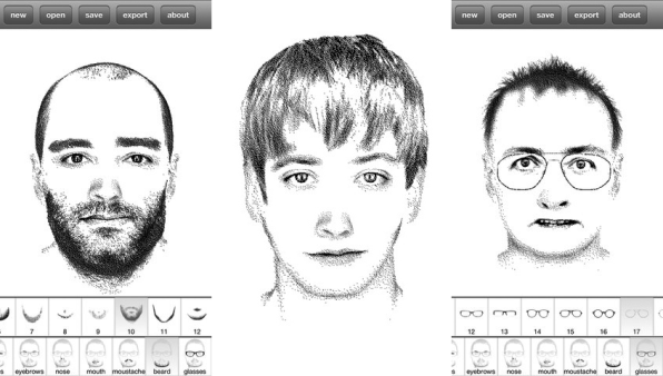 Create A Police Sketch Of Your Favorite Face With This