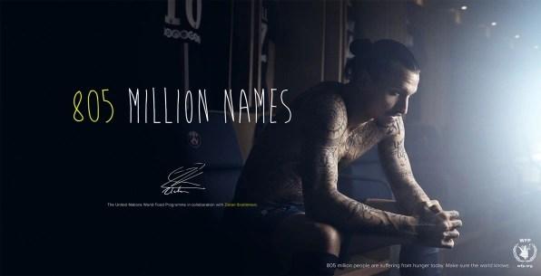 Zlatan Ibrahimovic Tattoos Names Of 50 Hungry People On His Torso