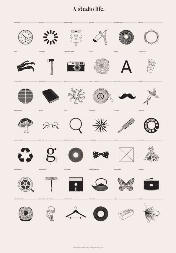 Infographic: A Graphic Tribute To The Designer's Life
