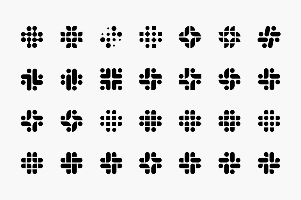 Slack's new logo by Pentagram ditches the hashtag and plaid