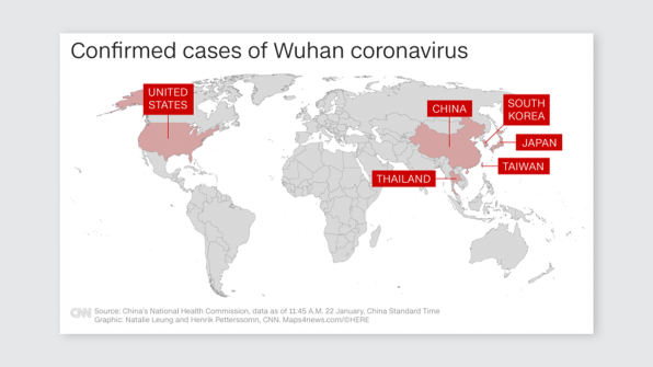 Wuhan coronavirus: Data visualization can help stop its spread