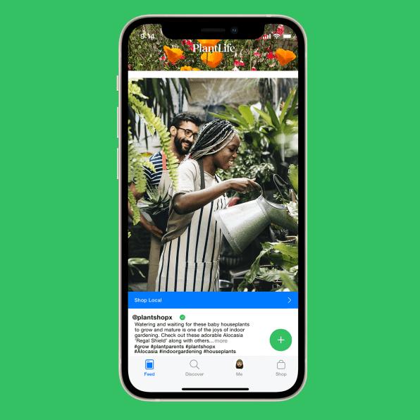 """i 3 90681171 plantlife is tiktok for your plants made by apple and nike alums Novo aplicativo é uma espécie de """"TikTok"""" para quem ama plantas"""