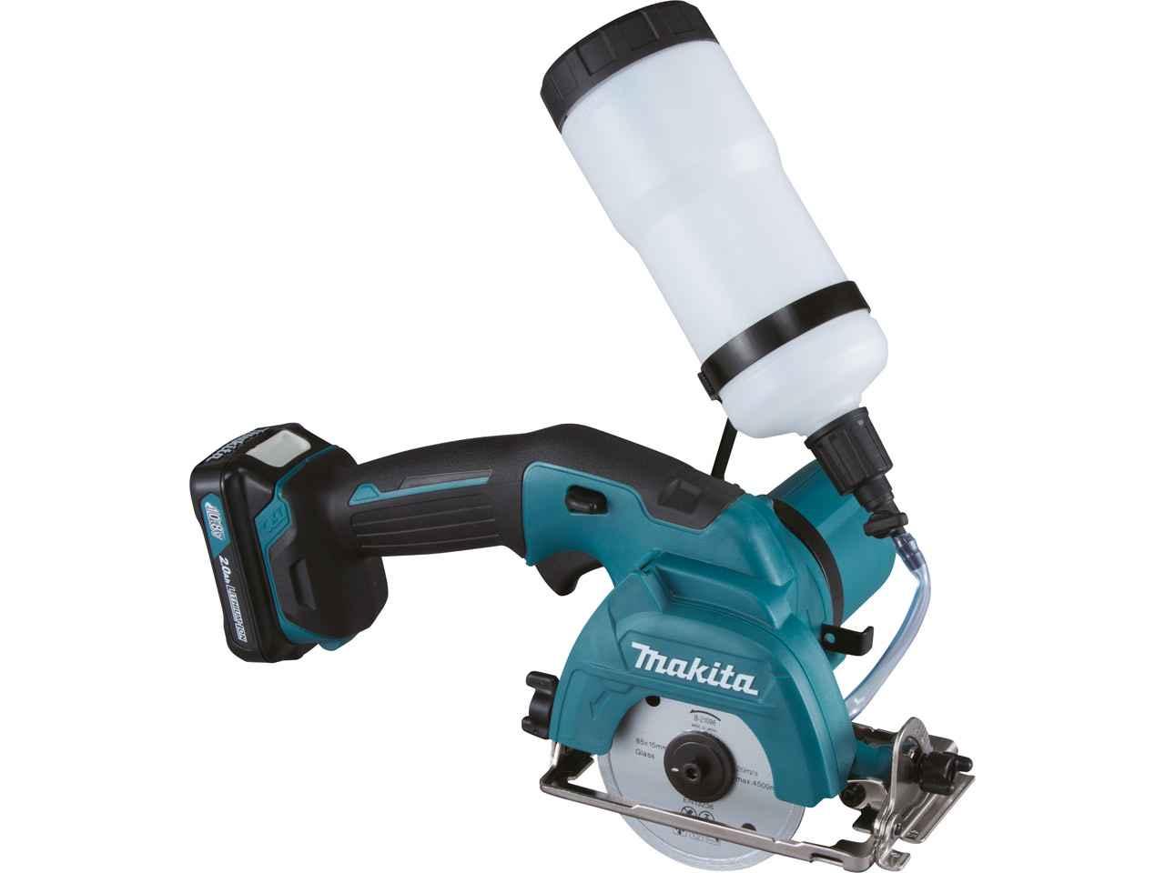 Makita Cc301dwae 10.8v Cxt 2x2.0ah 85mm Tile Cutter Kit