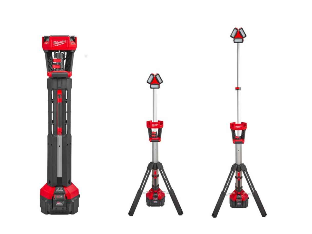 Milwaukee M18HSAL-0 M18 Rocket LED Tower Light 110V Output