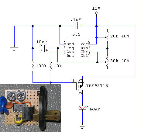 2 pin led flasher relay wiring diagram 1999 f150 diy silent adjustable rate schematic & schem for 16 blink effects - pennock's ...