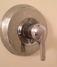 Mystery Shower Handle Removal - Pennock's Fiero Forum